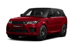range rover sport rojo