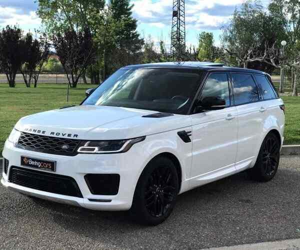 range rover blanco